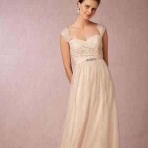Jenny Yoo BHLDN Juliette Dress in Cashmere